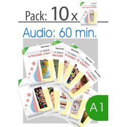 For Russian teachers: Pack lessons 1 to 10, level A1