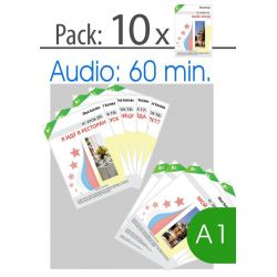 For Russian teachers: Pack lessons 11 to 20, level A1
