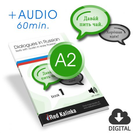 Dialogues in easy Russian + audio: Level A2