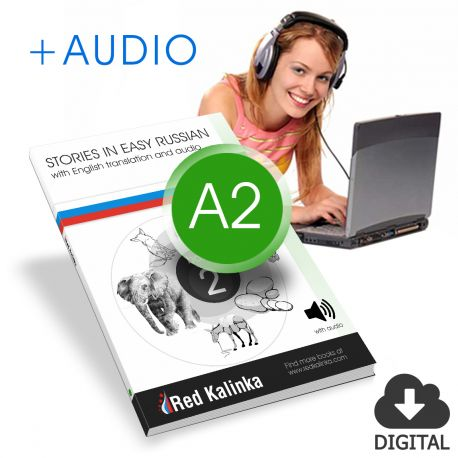 Russian stories with audio: Level A2 Book 2
