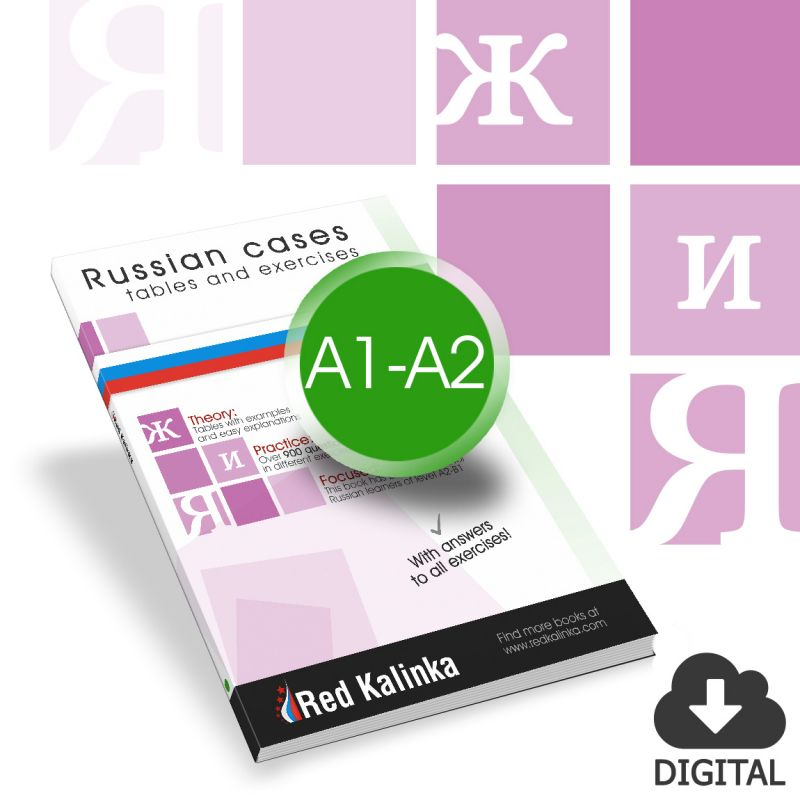 Exercise book to learn the Russian cases: Level A1-A2