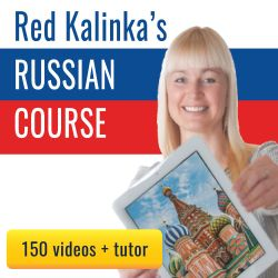 Learn Russian for 1 euro/day: Course with 140 videos + tutor