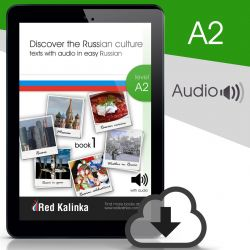 Descubre la cultura rusa + audio: Nivel A2 Libro 1 (ebook)
