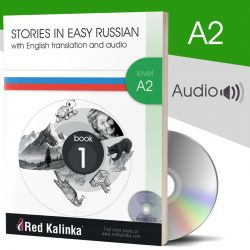 PAPER BOOK: Russian stories with audio: Level A2 Book 1