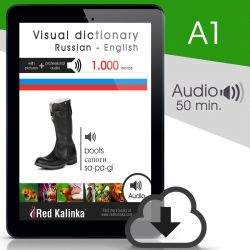 Visual dictionary with audio: Russian-English