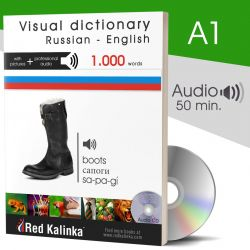 LIBRO EN PAPEL + CD: Diccionario visual ruso-inglés con audio