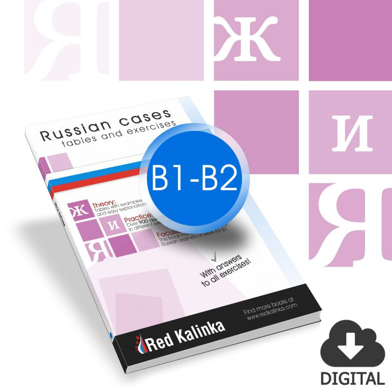 Exercise book to learn the Russian cases: Level B1-B2